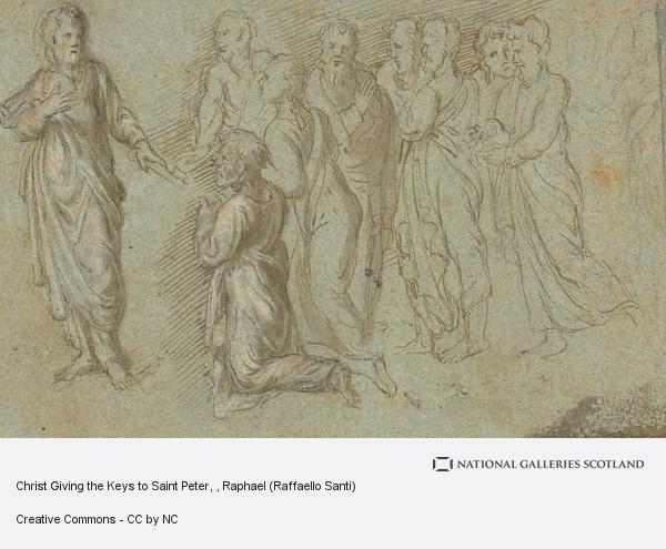 Raphael (Raffaello Santi), Christ Giving the Keys to Saint Peter