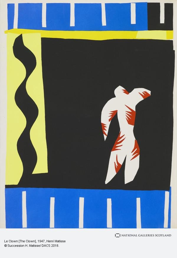 Henri Matisse, Le Clown [The Clown]