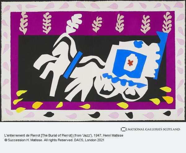 Henri Matisse, L'enterrement de Pierrot [The Burial of Pierrot]