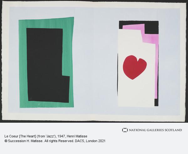 Henri Matisse, Le Coeur [The Heart]