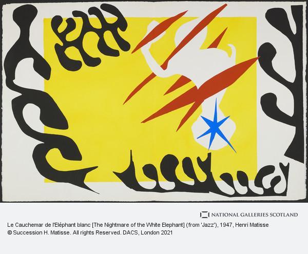 Henri Matisse, Le Cauchemar de l'Eléphant blanc [The Nightmare of the White Elephant]