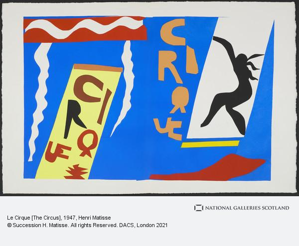 Henri Matisse, Le Cirque [The Circus]