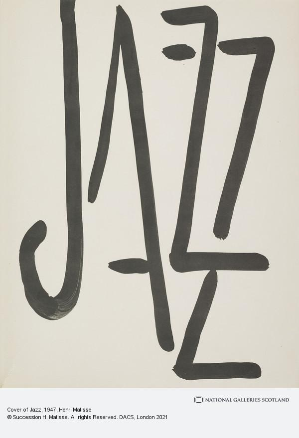 Henri Matisse, Cover and text pages of Jazz