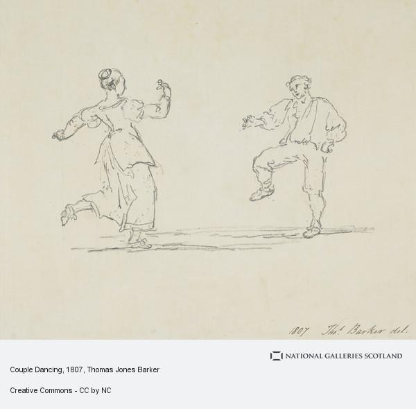 Thomas Jones Barker, Couple Dancing