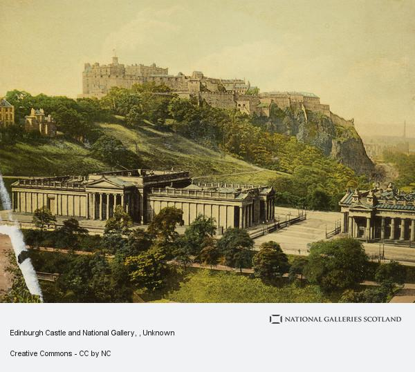 Unknown, Edinburgh Castle and National Gallery