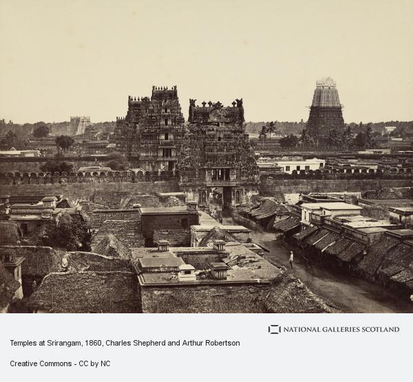 Charles Shepherd and Arthur Robertson, Temples at Srirangam