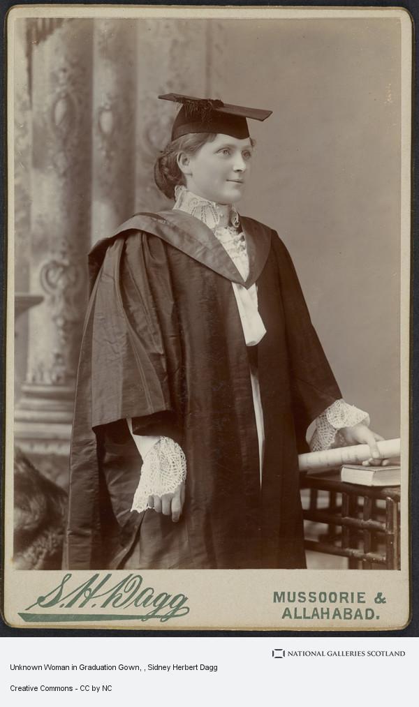 Sidney Herbert. Dagg, Unknown Woman in Graduation Gown