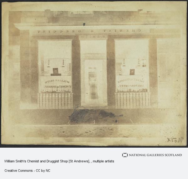 Robert Adamson, William Smith's Chemist and Druggist Shop [St Andrews]