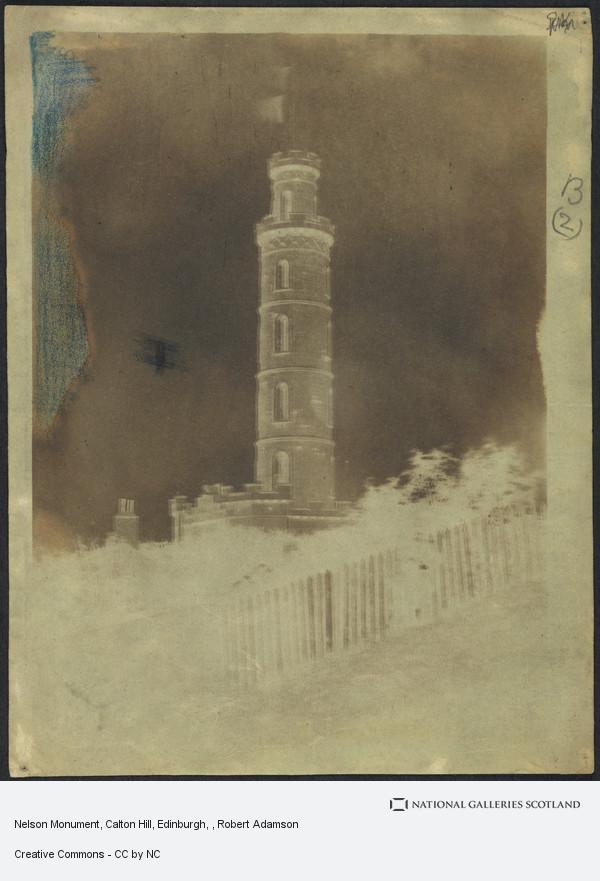 Robert Adamson, Nelson Monument, Calton Hill, Edinburgh