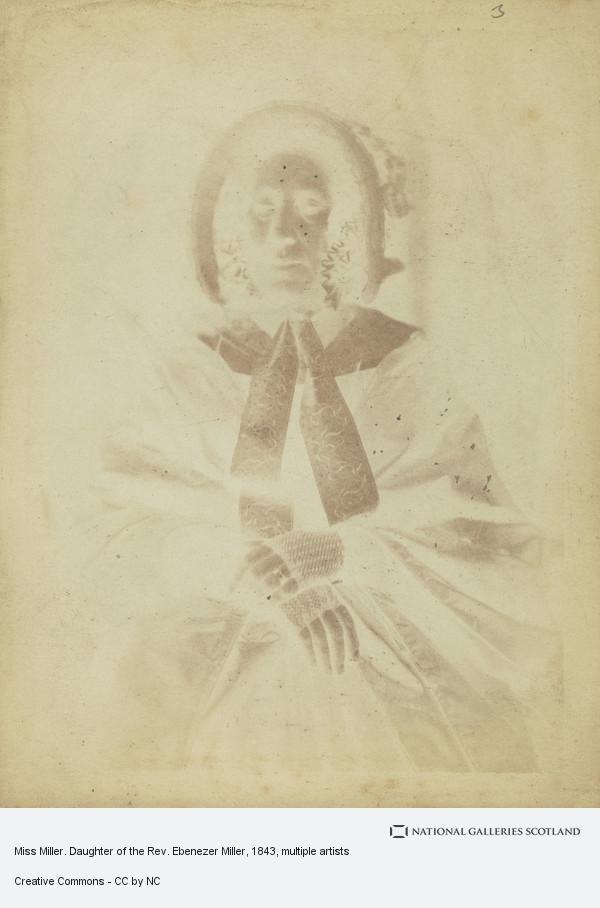 David Octavius Hill, Miss Miller. Daughter of the Rev. Ebenezer Miller