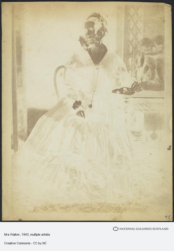 David Octavius Hill, Mrs Walker