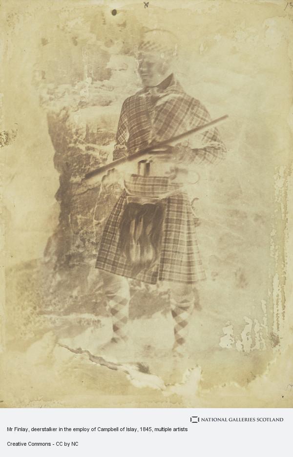 David Octavius Hill, Mr Finlay, deerstalker in the employ of Campbell of Islay