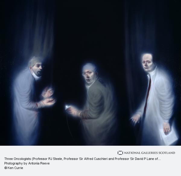 Ken Currie, Three Oncologists (Professor RJ Steele, Professor Sir Alfred Cuschieri and Professor Sir David P Lane of the Department of Surgery and Molecular...