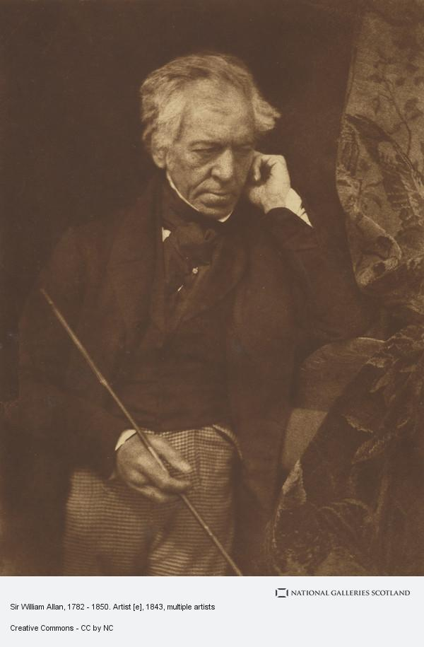 David Octavius Hill, Sir William Allan, 1782 - 1850. Artist [e]