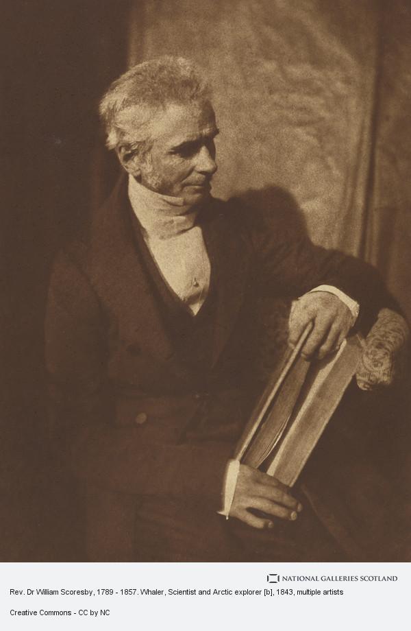 David Octavius Hill, Rev. Dr William Scoresby, 1789 - 1857. Whaler, Scientist and Arctic explorer [b]
