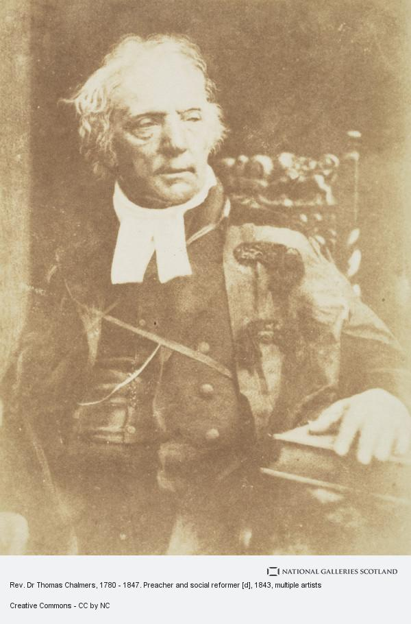 David Octavius Hill, Rev. Dr Thomas Chalmers, 1780 - 1847. Preacher and social reformer [d]
