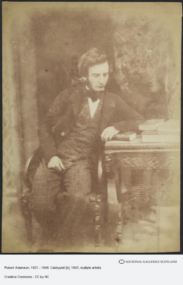 David Octavius Hill, Robert Adamson, 1821 - 1848. Calotypist [b]