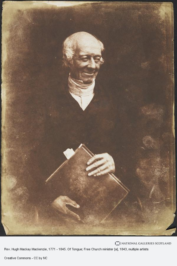David Octavius Hill, Rev. Hugh Mackay Mackenzie, 1771 - 1845. Of Tongue; Free Church minister [a]