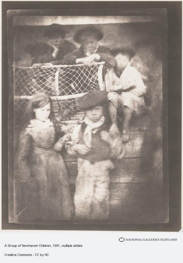 David Octavius Hill, A Group of Newhaven Children