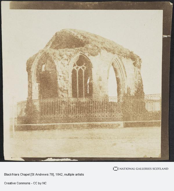 John Adamson, Blackfriars Chapel, St. Andrews [St Andrews 78]