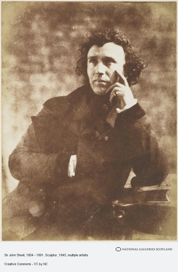David Octavius Hill, Sir John Steell, 1804 - 1891. Sculptor