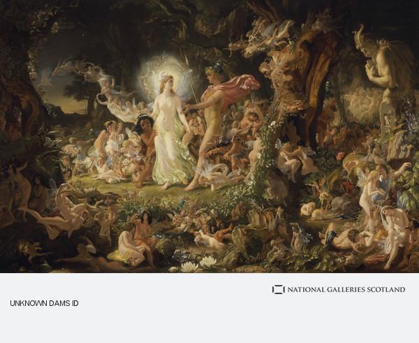 Sir Joseph Noel Paton, The Quarrel of Oberon and Titania (1849)