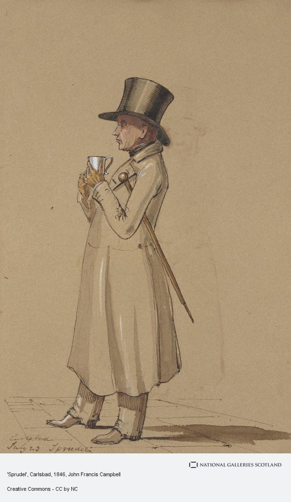 John Francis Campbell, 'Sprudel', Carlsbad