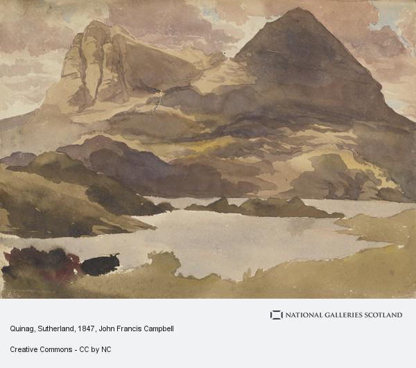 John Francis Campbell, Quinag, Sutherland