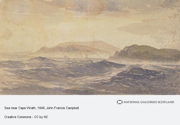 John Francis Campbell, Sea near Cape Wrath