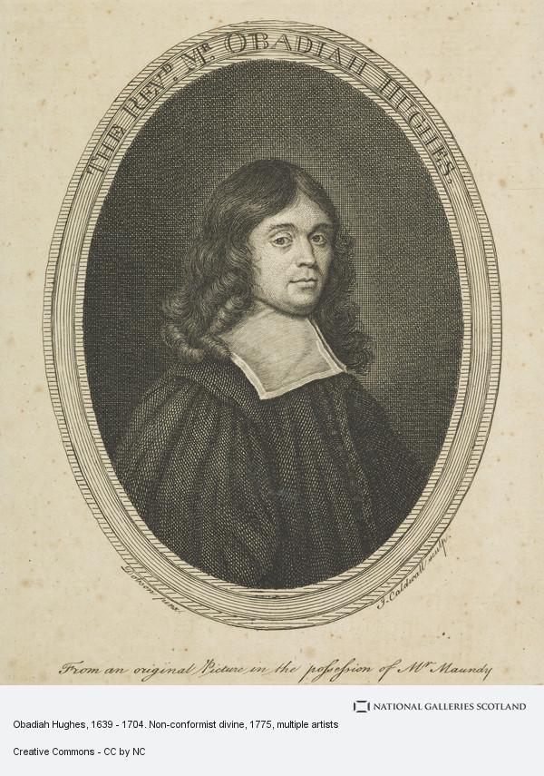 JAMES CALDWALL, Obadiah Hughes, 1639 - 1704. Non-conformist divine