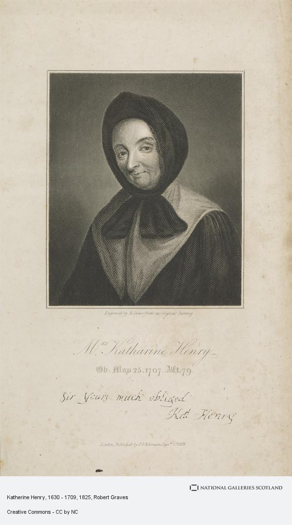Robert Graves, Mrs Katherine Henry, 1630 - 1709