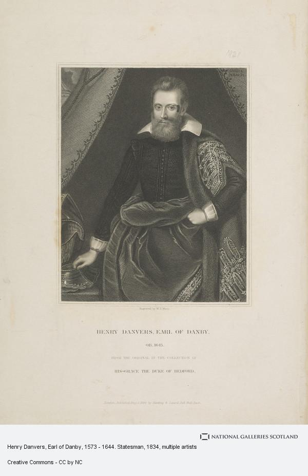 W.T. Mote, Henry Danvers, Earl of Danby, 1573 - 1644. Statesman