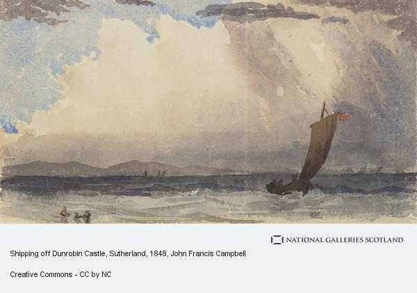John Francis Campbell, Shipping off Dunrobin Castle, Sutherland