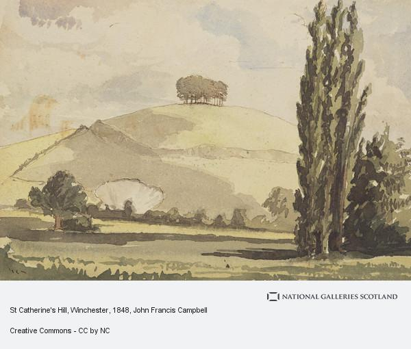 John Francis Campbell, St Catherine's Hill, Winchester