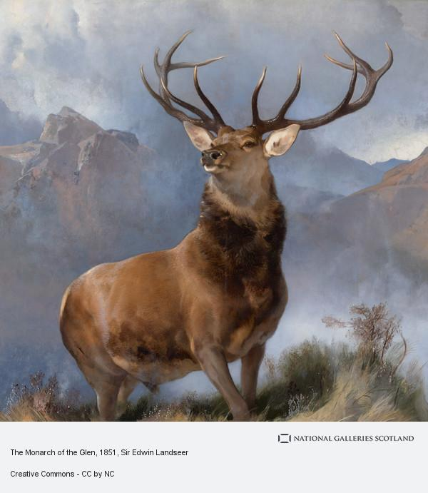 Sir Edwin Landseer, The Monarch of the Glen (About 1851)