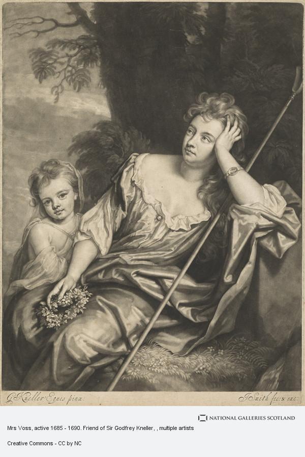 John Smith, Mrs Voss, active 1685 - 1690. Friend of Sir Godfrey Kneller