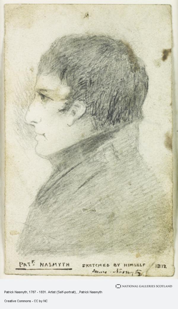 Patrick Nasmyth, Patrick Nasmyth, 1787 - 1831. Artist (Self-portrait)