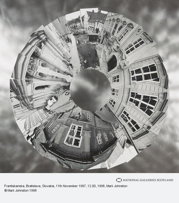 Mark Johnston, Frantiskanska, Bratislava, Slovakia, 11th November 1997, 12.00