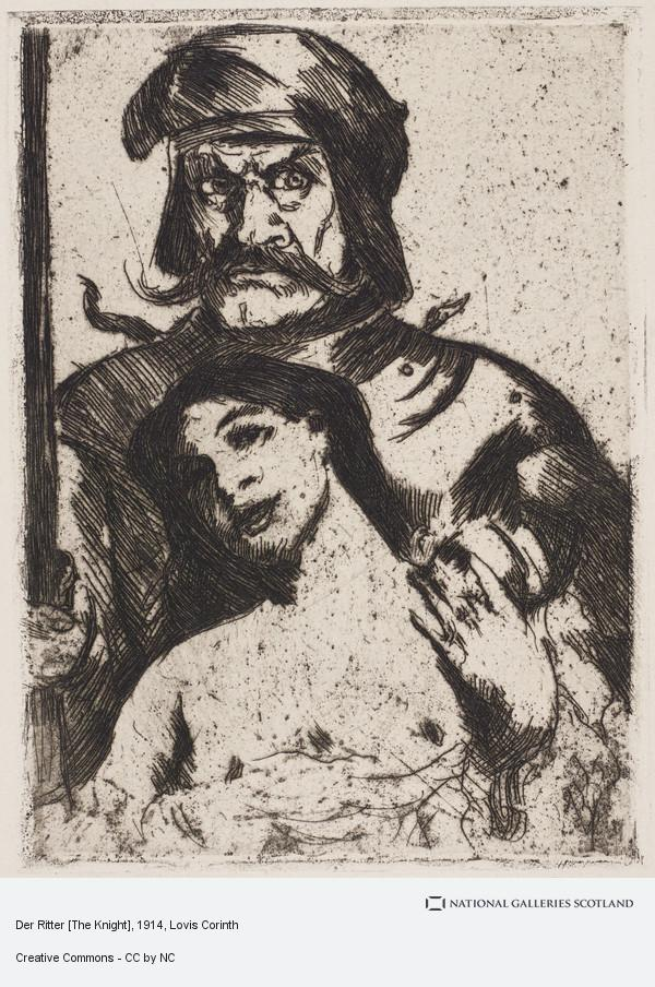 Lovis Corinth, Der Ritter [The Knight]