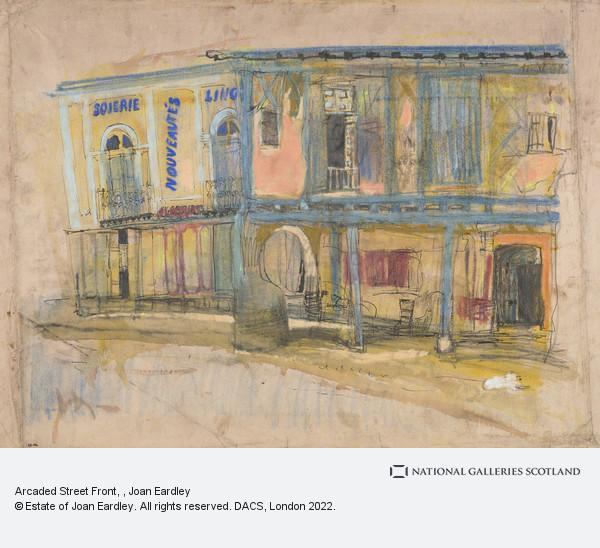 Joan Eardley, Arcaded Street Front