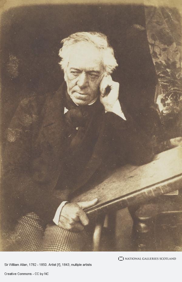 David Octavius Hill, Sir William Allan, 1782 - 1850. Artist [f]