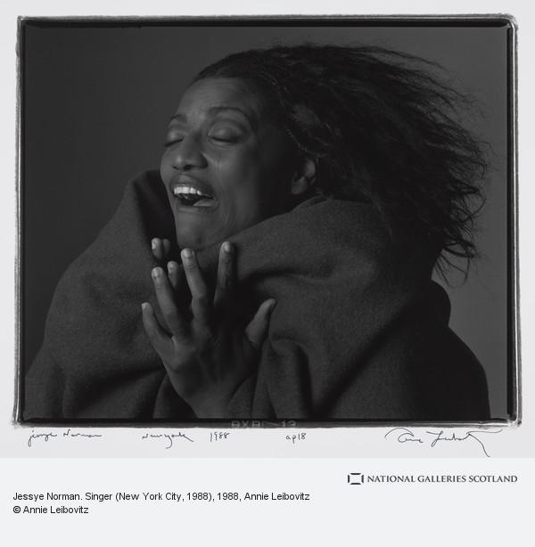 Annie Leibovitz, Jessye Norman. Singer (New York City, 1988)