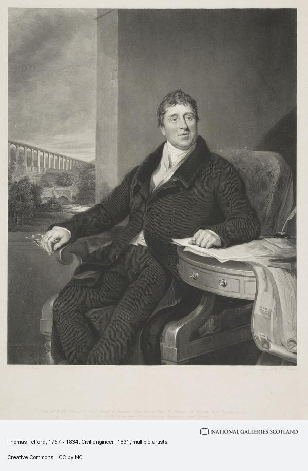 William Raddon, Thomas Telford, 1757 - 1834. Civil engineer