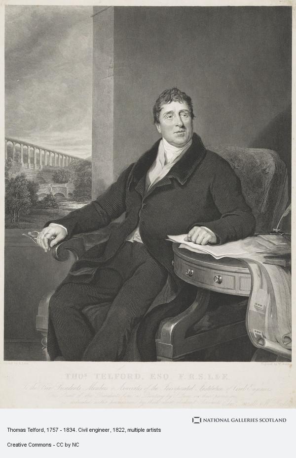 William Raddon, Thomas Telford, 1757 - 1834. Civil engineer