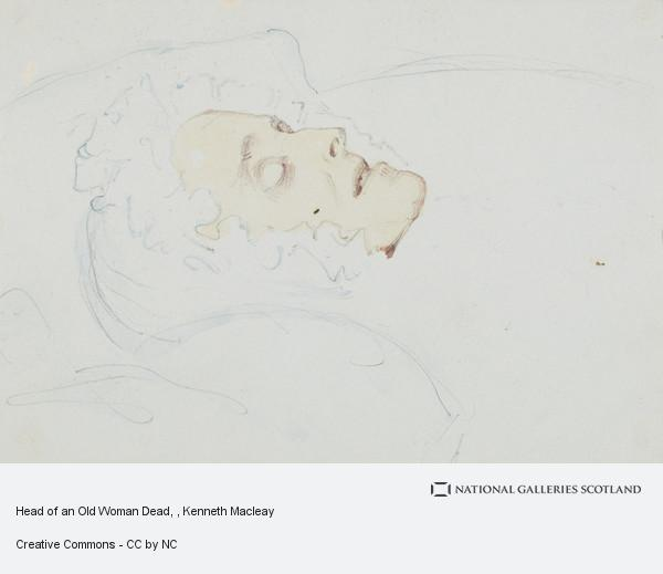 Kenneth Macleay, Head of an Old Woman Dead