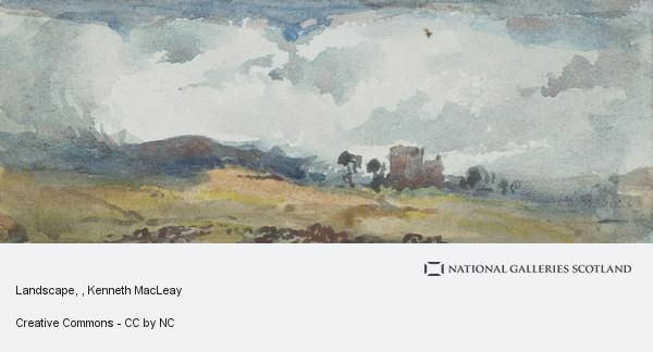 Kenneth Macleay, Landscape