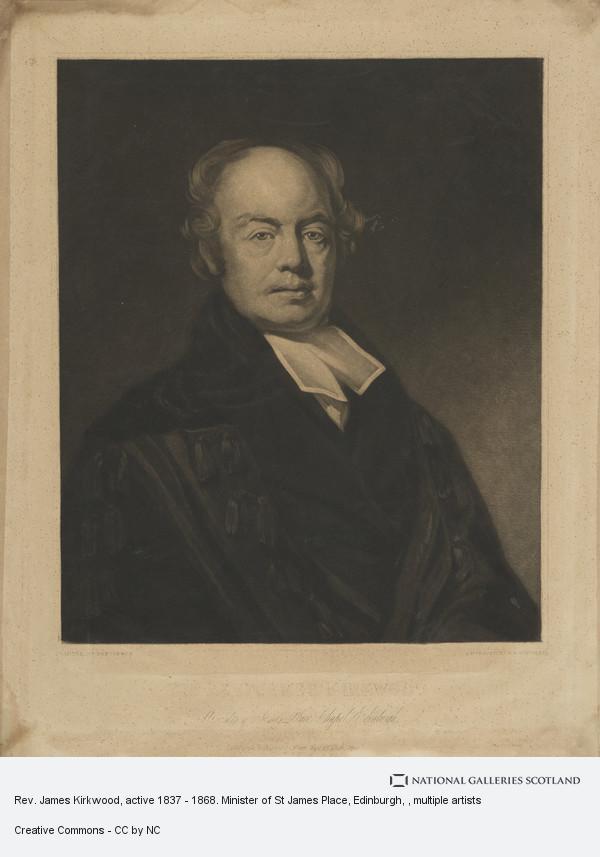 Robert Moore Hodgetts, Rev. James Kirkwood. Minister of St James Place, Edinburgh
