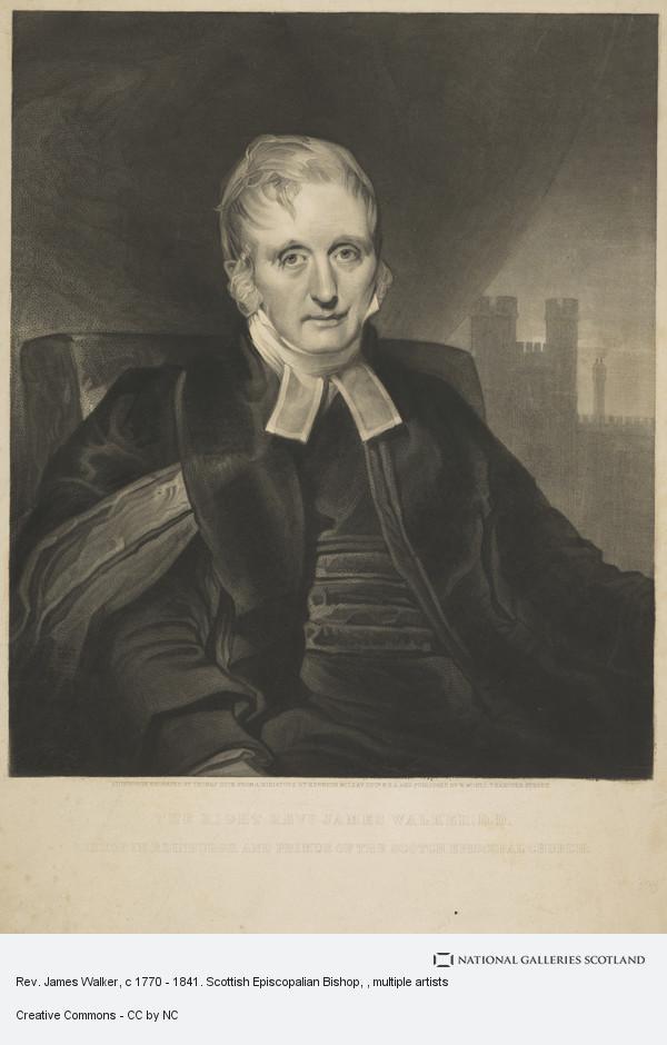 Thomas Dick, Rev. James Walker, c 1770 - 1841. Scottish Episcopalian Bishop