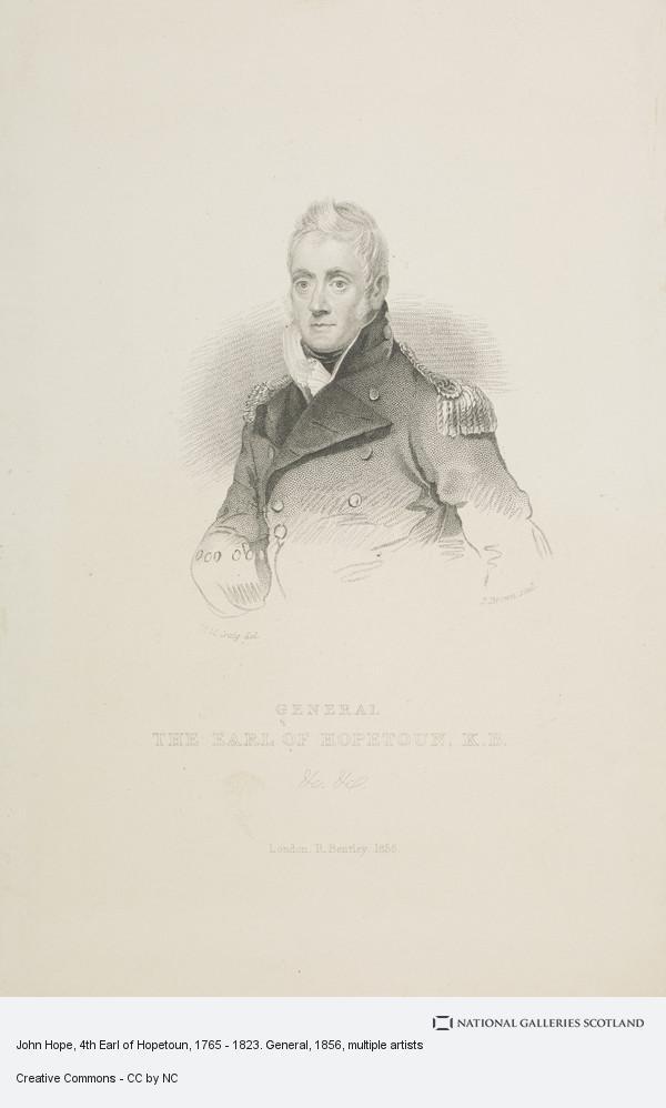 J. Brown, John Hope, 4th Earl of Hopetoun, 1765 - 1823. General