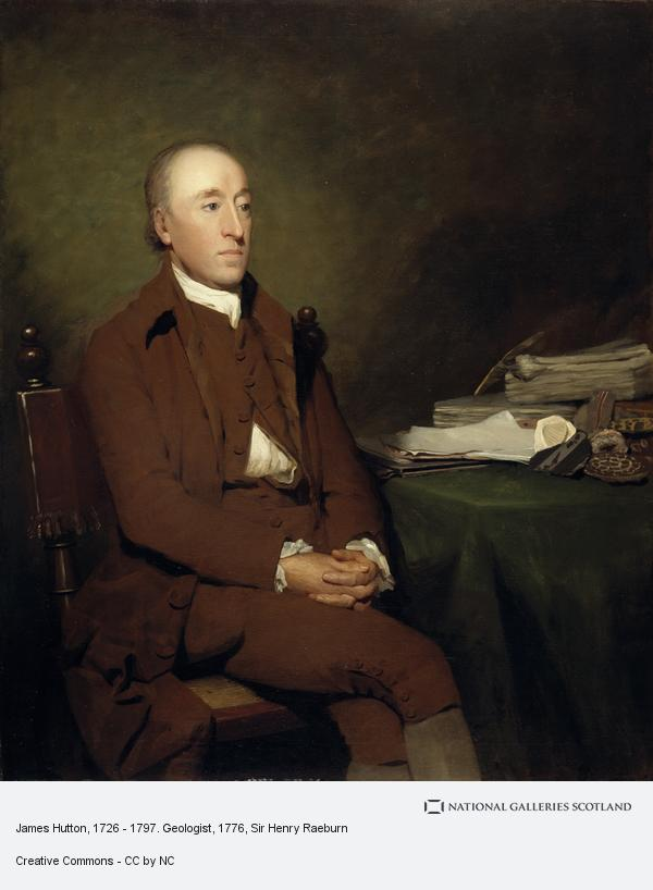 Sir Henry Raeburn, James Hutton, 1726 - 1797. Geologist (About 1776)